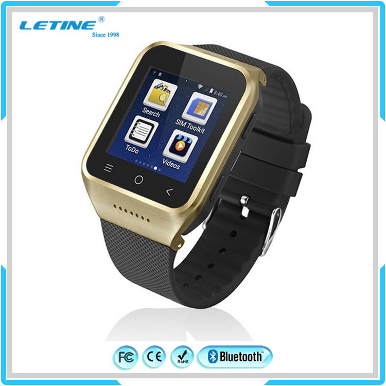 High Quality CE ROHS Smart Watch Phone with MTK6261D+<strong>GSM</strong>/GPRS Micro SIM Card +1.54 inch Touch Screen+ TF card