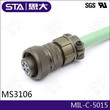 2pin Circular Connector,MS3102A16S-11P/MS3106A16S-11S/MS3108A16S-11S,Amphenol MIL-C-5015 Connector,16S-11