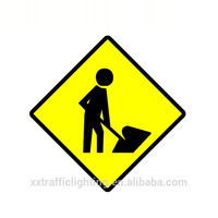 High Quality metal road work block traffic safety sign blank