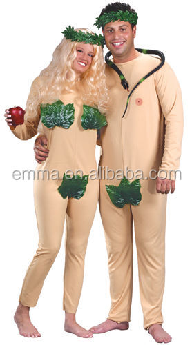 Adam & Eve Couples Halloween costume CM-1695