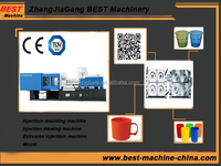 full-auto disposable plastic tea cups injection making machine supplier