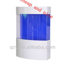 Round acrylic fish tank cylinder aquarium for home and office