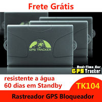 GPS Vehicle Tracker GPS104/TK104 Real Time Tracking, Voice Monitor, Geo Fence, Movement, Over Speed, Low Battery Alert