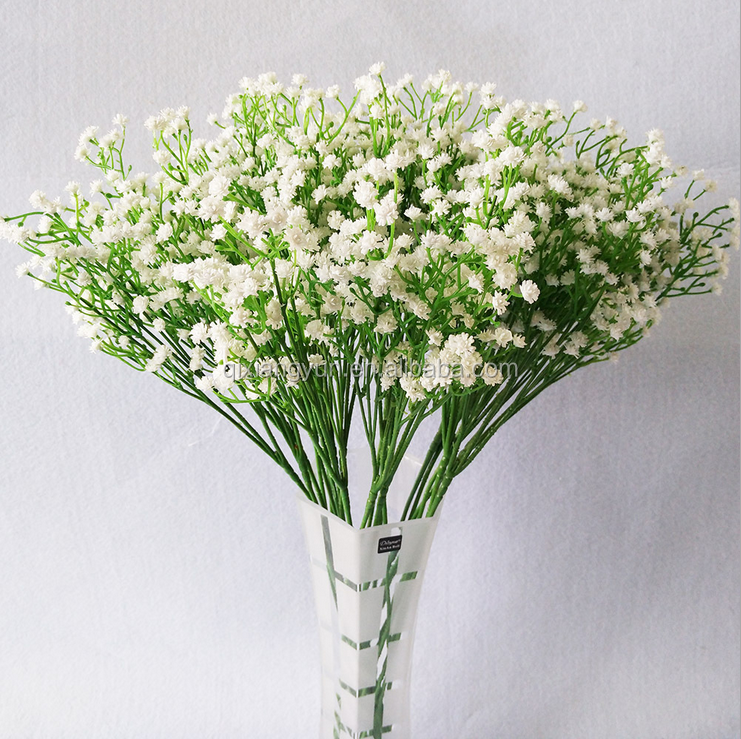 Factory best price baby breath flowers artificial wedding decoration flower pot