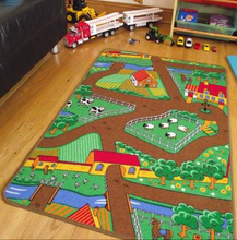 Child City Play Rug