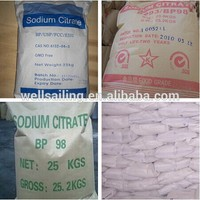 High Quality sodium citrate dihydrate molecular formula