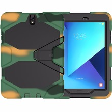 Hard Plastic Waterproof Military Case for Samsung Galaxy Tab S3 9.7 Case Cover