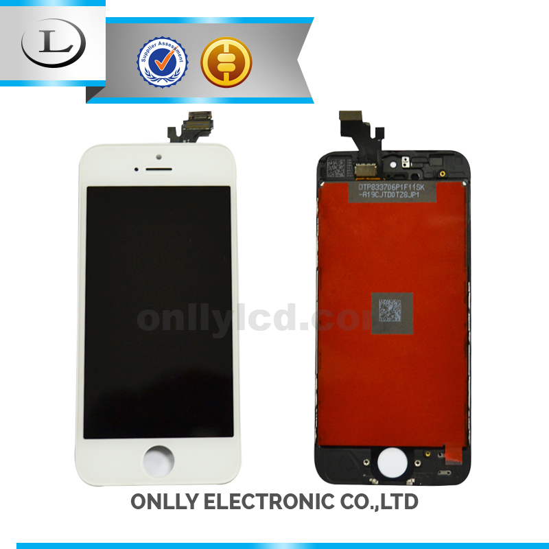 Wholesale for iphone 5 lcd aaa,high quality for iphone 5 digitizer