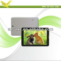 Zhixingsheng Android 4.1 dual core 1024*600 built-in gps 3g 7 inch mtk6577 tablet pc, dual SIM card Bluetooth, FM