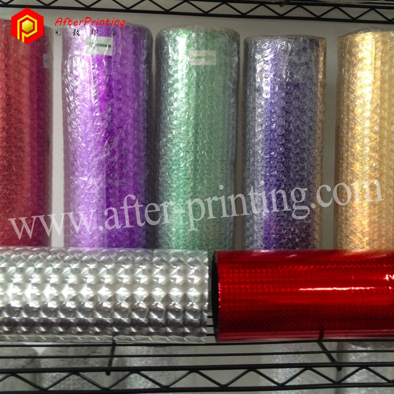 Customized Self Adhesive Transparent BOPP Holographic Film