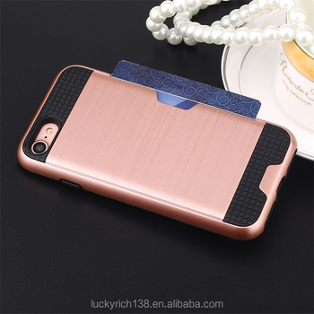 New arrival soft TPU brushed phone case for iPhone 7 with good quality