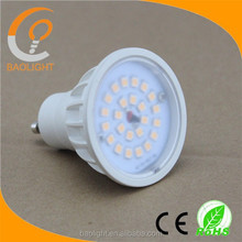 200V-240V 2years warranty Shenzhen factory 4000k 6000k 500lm home high lumen 5 watts gu10 ampoule leds low price