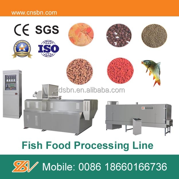 China new design Fish food production line