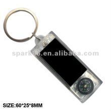 new type mahjong led clock solar keychain