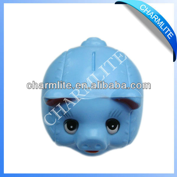 Plastic Pig Coin Bank For Promotion