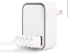 <strong>CE</strong>,ROHS,FCC,SAA,KC mobile charger 22.5W 5V 4.5A 4 port usb cell phone travel wall charger australian plug
