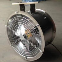 Aluminum blade greenhouse ventilation exhaust cooling fan
