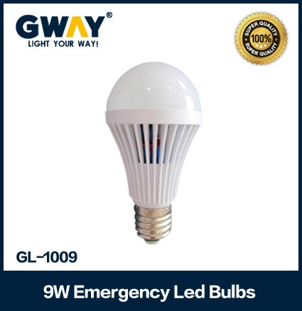 Led emergency bulb with 9W Power and Switching Power Supply