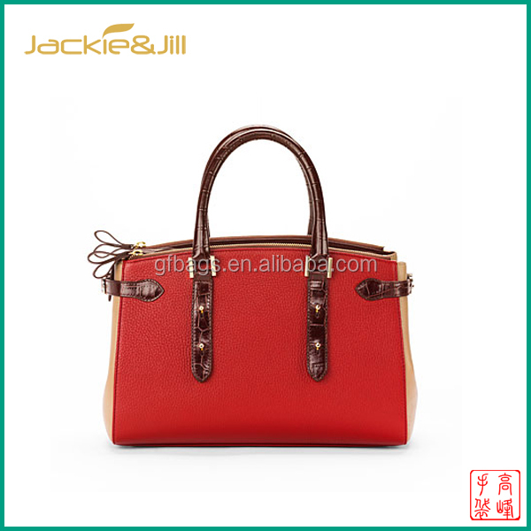 GF-S1390 High Quality Leather Ladies Handbag Bag Street Collection