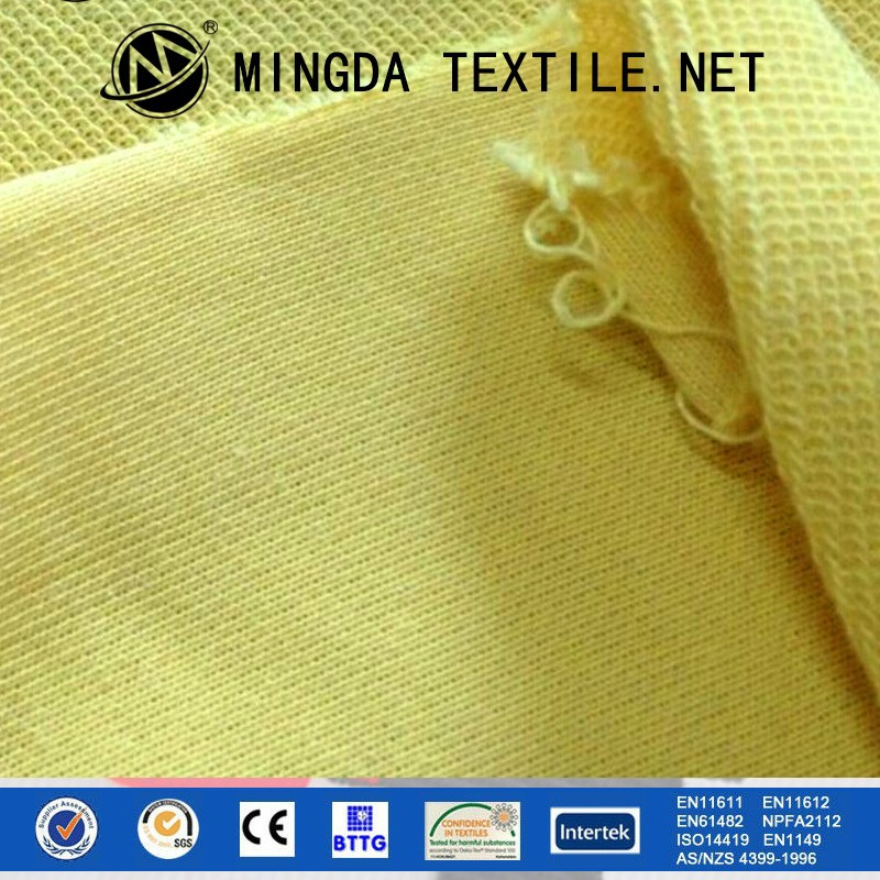 Wholesale Inherently textile cut resistant fabric para-aramid knitted anti-cut fabric for safety workwear or glove