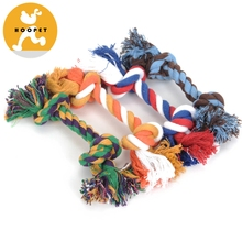 Small Simple Organic Cotton Pet Toy Rope Pet Toys