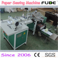 Automatic children's book sewing and folding machine , paper sewing machine