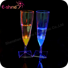 China Wholesale Liquid activated light up led glass cup