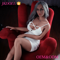 JKDOLL sex products full body skeleton 168cm latest lifelike japanese sex silicone sex doll for adult
