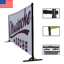 Wholesale Telescopic Fabric 8*10ft Trade Show Wall Event Backdrop Stand