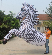 2*3m customization!!! inflatable zebra/cartoon/model/costume/walking inflatable animal for event/party DECOR advertising W7451