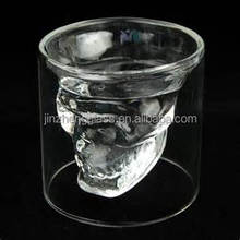 Doomed Crystal Skull Shot Glass x4, Party Shot, Drinking Shot Glass, Birthdday