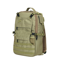 1BP0187 2017 Wholesale Hot Sale Travel Mountaineering Camping Hiking Army Green Survival Waterproof Tactical Backpack