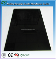 Plexiglass panel Easy clean 1mm plastic black acrylic sheet