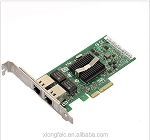 PCI-Express Dual Port 1000Mbps Gigabit Ethernet Controller Card Server Adapter NIC EXPI9402PT 9402PT 82571