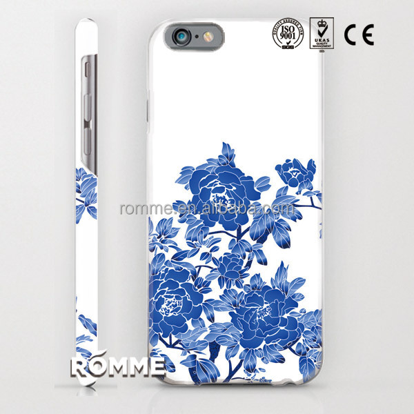 Professional phone case manufacture customize print 3D sublimation printing hard PC cover case for iphone 6