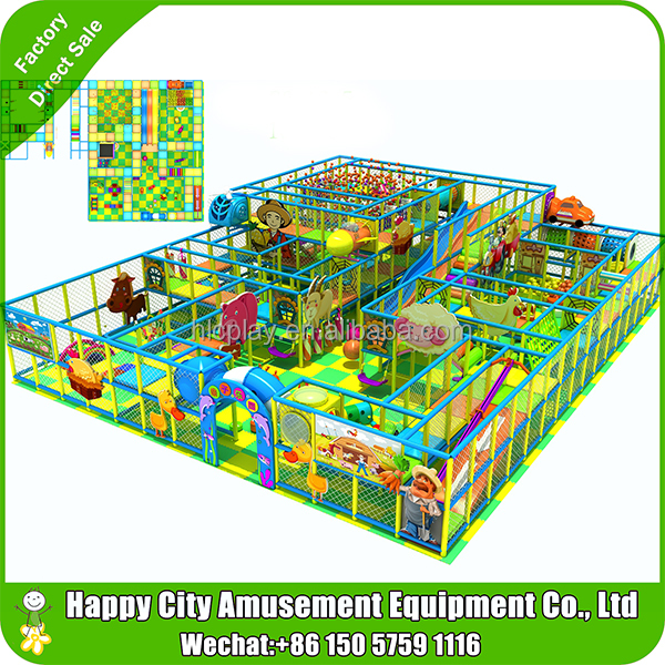 Indoor foam play area game room equipment soft indoor playground for kids factory cheap indoor fun playground