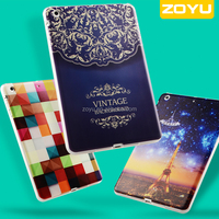 many designs cute cover for Ipadmini TPU leather printing case
