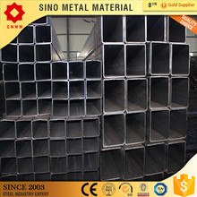 ms steel square/rectangular tube welded square pipe iron tube raw material tianjin supplier