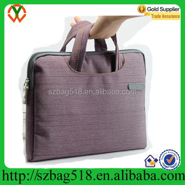 13 inch Jeans Fashion messenger laptop trolley bag