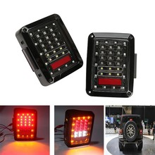 JEEP Wrangler LED taillights US version (European version),Auto accessories, auto parts jeep taillight for JEEP