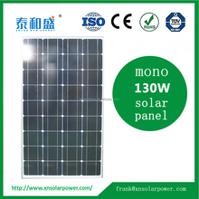 China manufacture PV mono 130W solar panels for sale