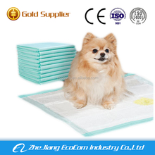 High grade biodergardable puppy training pee pads