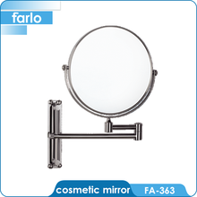 FARLO telescopic wall magnifying cosmetic mirror