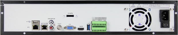 36CH 960P/25CH 1080P with 9 SATA HDD Interface, P2P/IE/CMS/Mobile Phone 36ch nvr