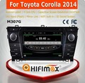 HIFIMAX Android 4.4.4 Car DVD Player For Toyota Corolla (2012-2014) Verso Steering wheel controls