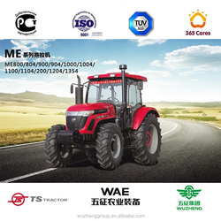 110hp 4 wheel drive tractor of TS brand customized for various farming options for sale
