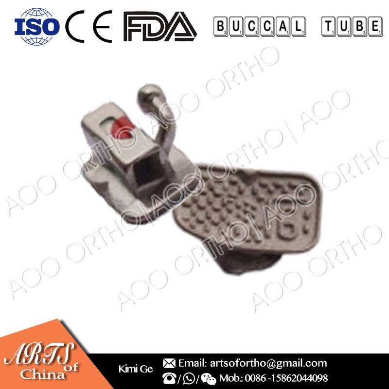 AO Ortho Hot selling meshbase dental material dental orthodontic buccal tube