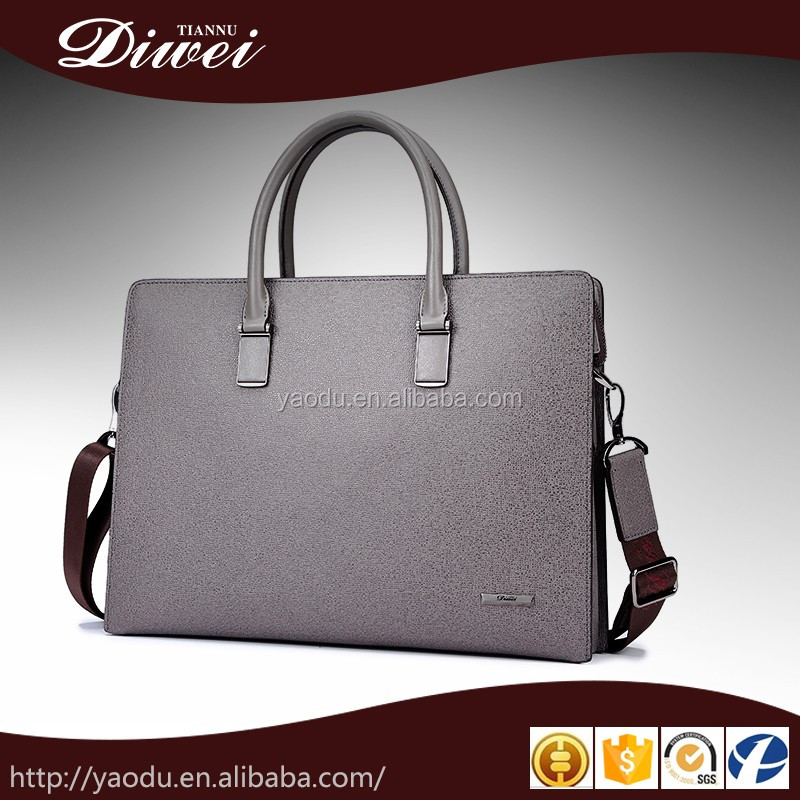 2017 Business style men genuine leather briefcase ,men conference bag