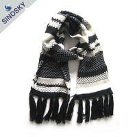 Top Sell Knit Scarf Winter Muffler Ladies Scarf