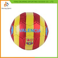 Newest selling unique design pvc material soccer ball manufacturer sale